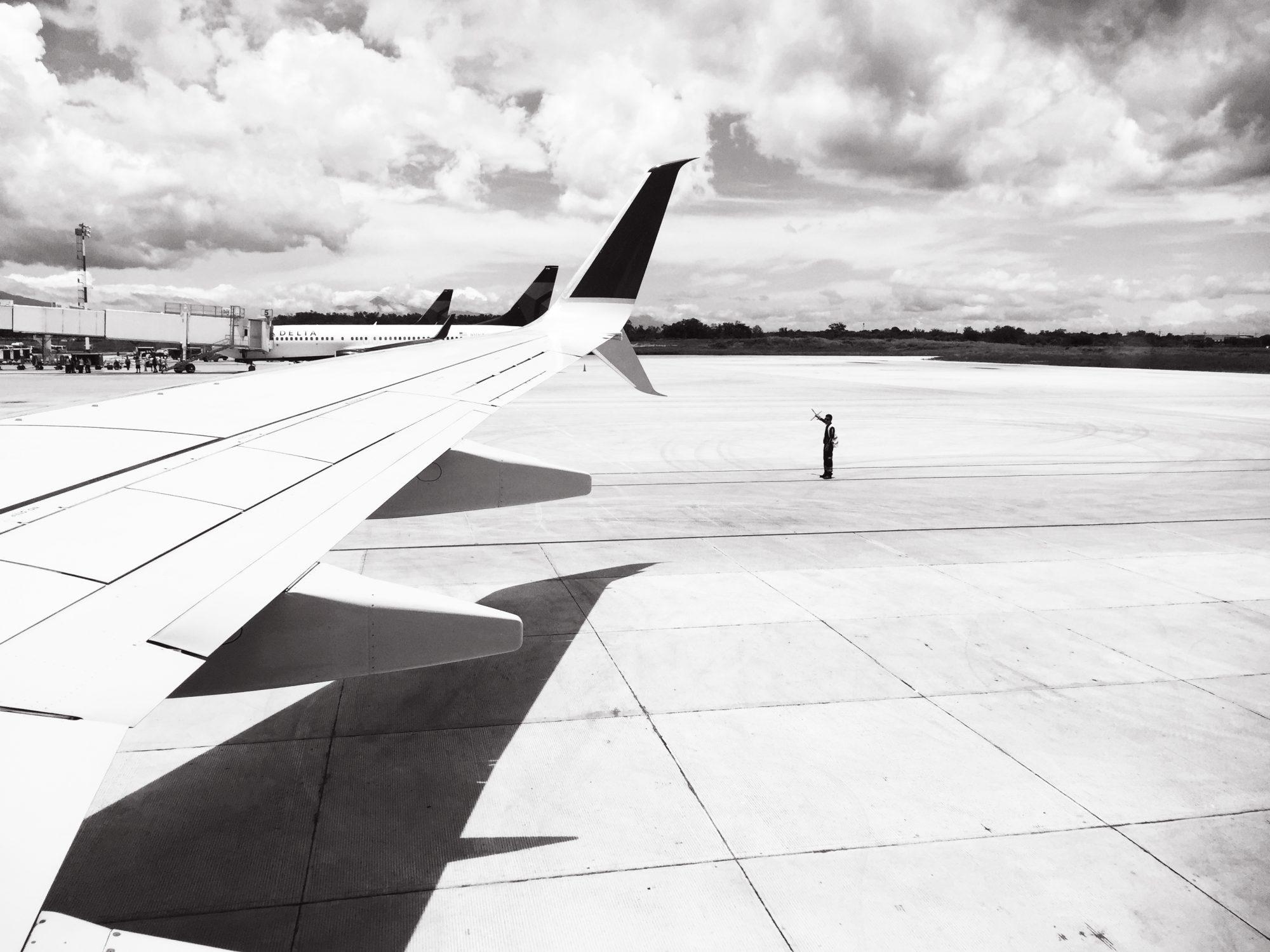 Airport runway, Costa Rica