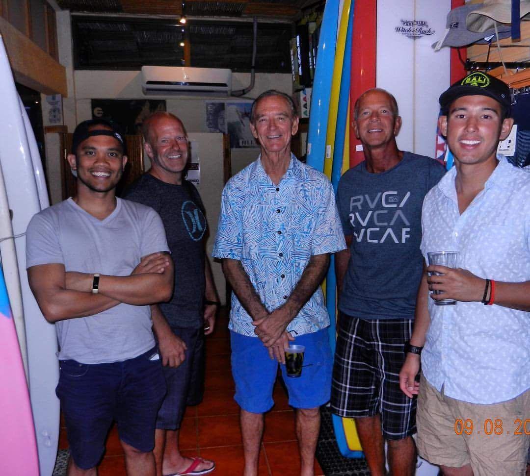 Robert August and Philadelphia Surfers