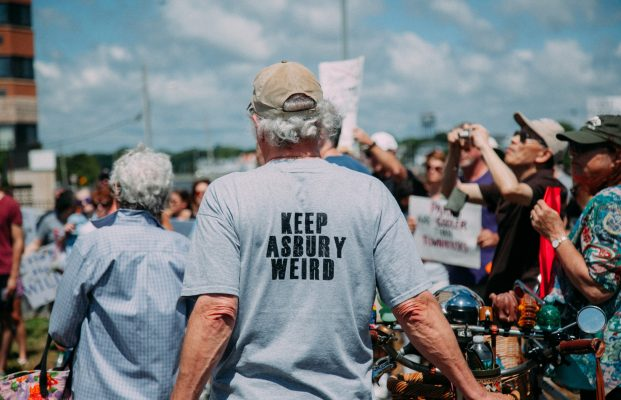 Surfrider Rally in Asbury